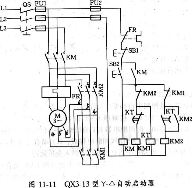 电动机接线图-控制线路图大全