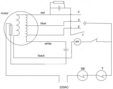 电风扇电容接法